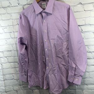 BROOKS BROTHERS Men's LS Button Down 17 1/2- 4/5